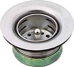 Moen Cesto de pia 22174 com conjunto de drenagem, 5 cm, aço inoxidável