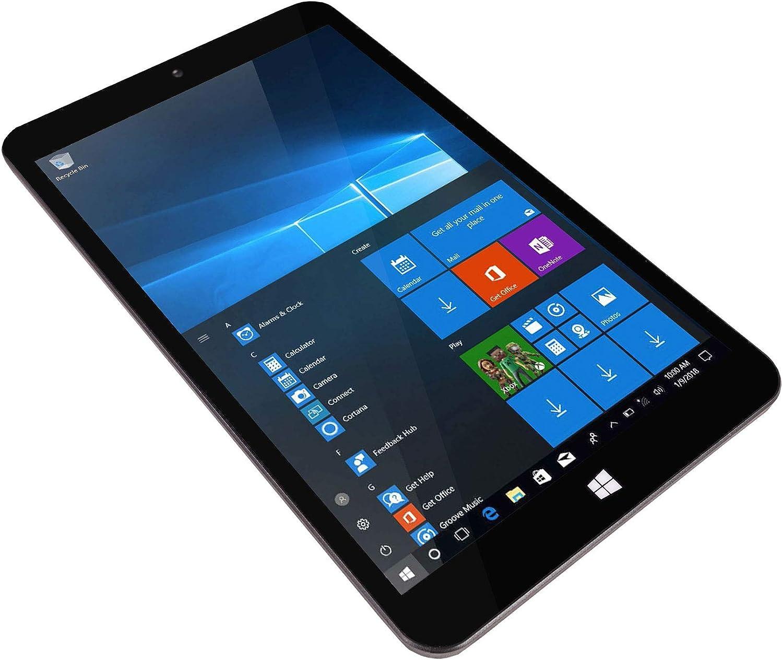 "Talius Tablet Profesional Zaphyr 8005W, Pantalla 8"" 1920x1200, Intel Quad Core Atom Z8350, 4Gb RAM, 64Gb ROM, Salida Micro HDMI, Windows 10, 64 bits"