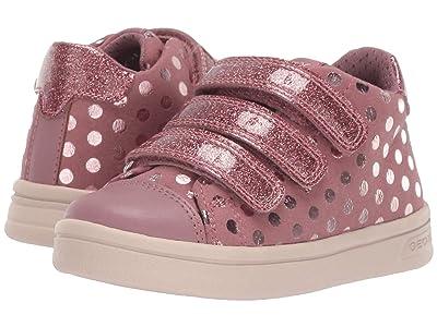 Geox Kids Jr Djrock 36 (Toddler) (Dark Pink) Girls Shoes