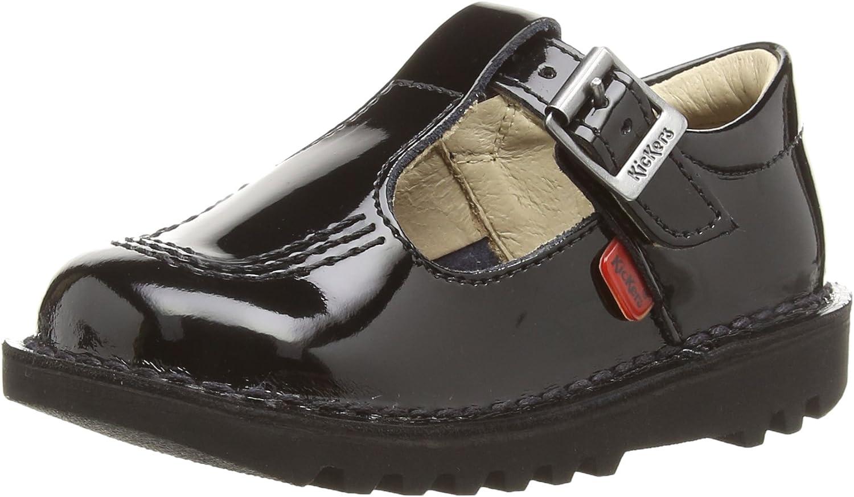 Kickers Kick T Infant おすすめ セールSALE%OFF Shoes Black School Patent