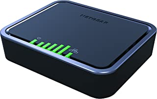 NETGEAR 4G LTE Modem  � Instant Broadband Connection | Supports Power over Ethernet | works with AT&T and alternate carriers (LB1121)