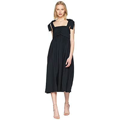 See by Chloe Dress with Bows (Opaque Brown) Women
