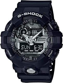 Casio Men's G Shock GA710-1A Black Rubber Quartz Sport Watch