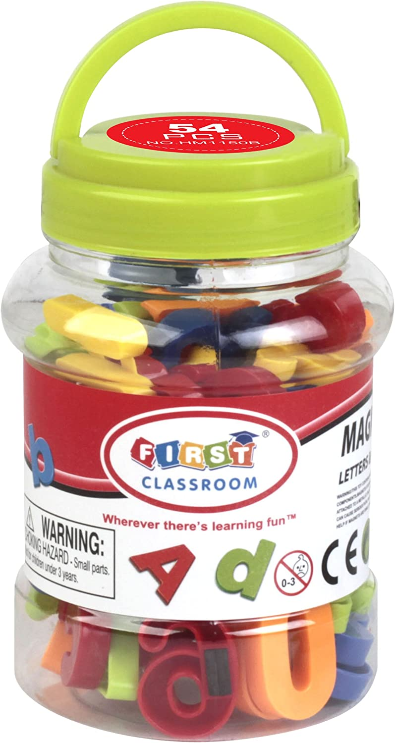 First Classroom Magnetic Numbers & Symbols in a Jar, 1.25
