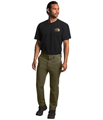 The North Face Motion Pants (Burnt Olive Green 1) Men