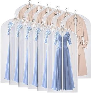 KEEGH - Housse de vêtement pour le rangement et le voyage, protection anti-mites, pliable - pour robes, tenues de danse, c...
