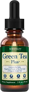 Green Tea Plus – Concentrated Green Tea Extract Supplement. Healthy Metabolism Boost and Natural Energy from Green Tea. De...
