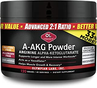 Olympian Labs A-AKG Powder, 30 servings