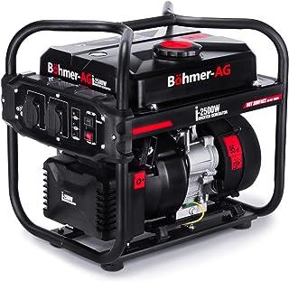 comprar comparacion Böhmer-AG i-2500W - Grupo Electrógeno a Gasolina Invertido Silencioso con adaptadores EU - 2,0kW