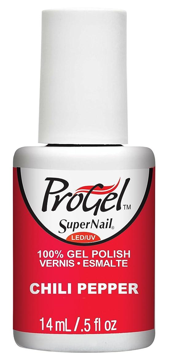アラームピット助言SuperNail ProGel Gel Polish - Chili Pepper - 0.5oz / 14ml