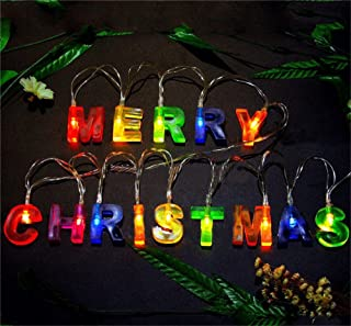 outdoor light up merry christmas sign