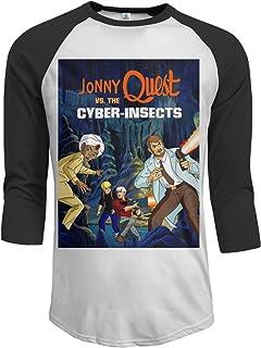 Jonny Quest Women Summer Short Sleeve Baseball Tee Shirts Loose Casual Blouses Tops