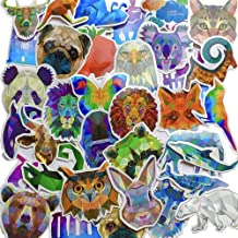 Water Bottle Stickers 35 Pack - Trendy/Cute/Aesthetic/Cool Animal Decals - Car/Bike/Helmet/Laptop/Vinyl/Phone/Skateboard/Bumper Decal - Adults/Teen/Girl/Boy Travel Sticker Packs - Small Stick Labels