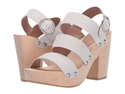 Chinese Laundry Fayla (White Leather) High Heels