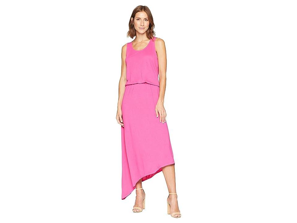 Fresh Produce Aria Long Dress (Raspberry) Women