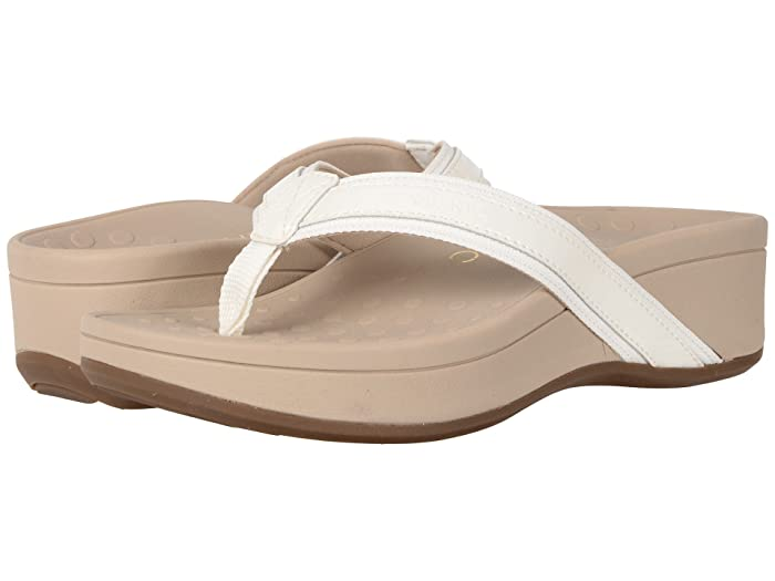 VIONIC  High Tide (White Patent) Womens Sandals