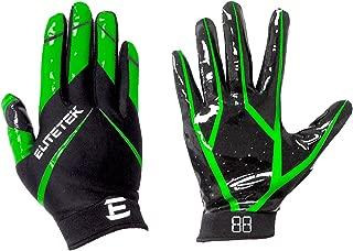EliteTek RG-14 Football Gloves Youth and Adult