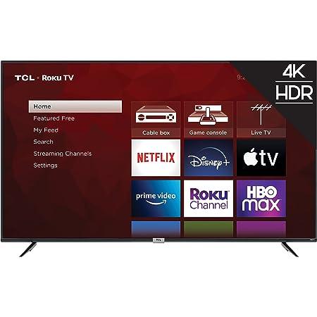 TCL 75-inch Class 4-Series 4K UHD HDR Smart Roku TV – 75S435, 2021 Model