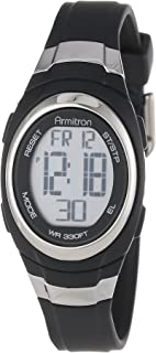 Armitron Sport Womens 45/7034 Digital Chronograph Resin Strap Watch
