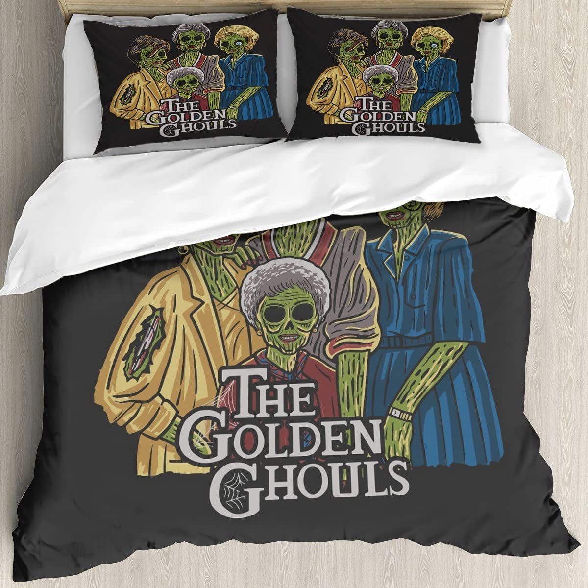 The Golden Ghouls 3D Printing 5% OFF Cover Soft and Quantity limited Br Bedding Set Twin