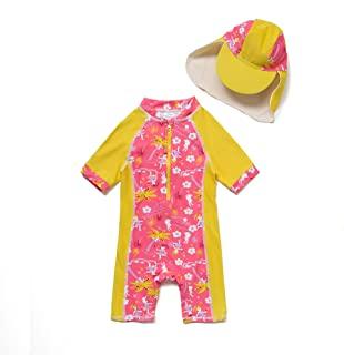 51de68b8bf Baby Toddler Girl One-Piece UPF 50+ Sun Protection Swimsuit