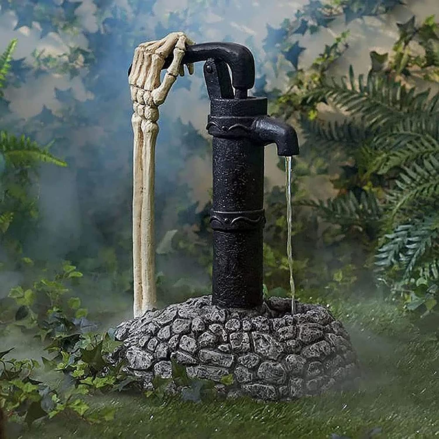 Halloween Omaha Mall Decoration Pump and Hand Sale item Arm Water Skeleton