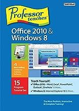 Professor Teaches Office 2010 and Windows 8