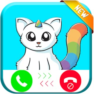 Unicorn Cat Evolution Calling You PRANK - Free FakeFone Call IP PRO 2018
