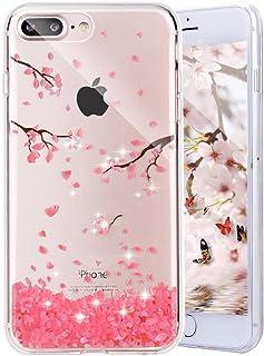 8eee0735057 iPhone 6S móvil, iPhone 6 Funda, yheng Lujo Brillante purpurina Sparkle  Funda de silicona