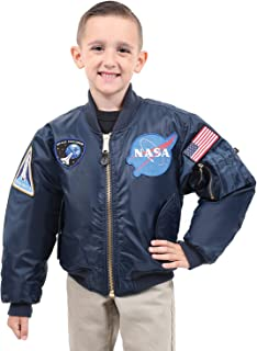 Kids NASA MA-1 Flight Jacket