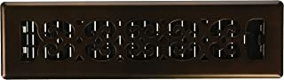 Decor Grates SPH212-RB Scroll Plated Register, 2-Inch by 12-Inch, Rubbed Bronze