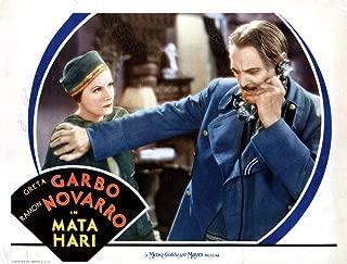 Posterazzi MATA Hari from Left Greta Garbo Lionel Barrymore 1931 Movie Masterprint Poster Print (14 x 11)