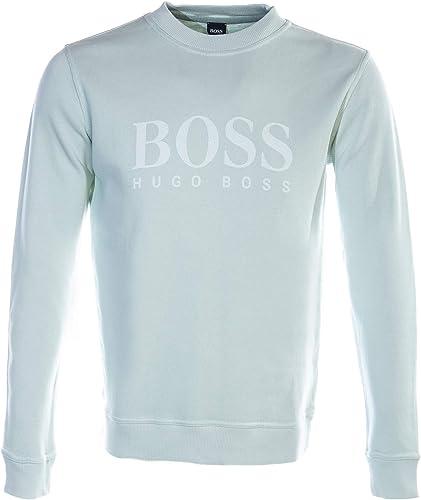 BOSS Weave Sweat Top in Mint