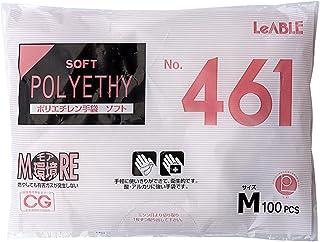 大和工場 ポリエチレン手袋 ソフト No461 M100枚