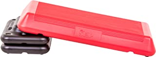"The Step Freestyle Aerobic Platform, 28.5"" L x 14.5"" W x 4"" H, Red/Black (91162)"