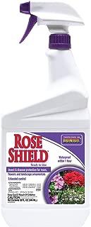 Bonide Chemical 982 037321009825 RTU Rose Shield, 1-Quart, 1, Brown/A