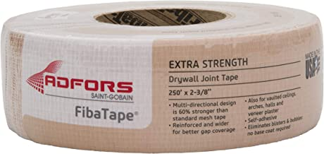 FibaTape FDW8666-U 2-3/8x250 Extra Strength Drywall Joint Tape