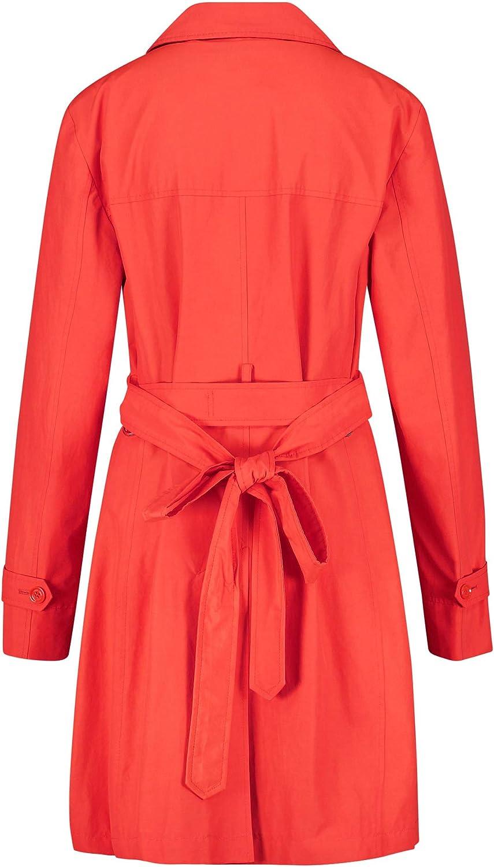 Gerry Weber Damen Mantel Red Orange
