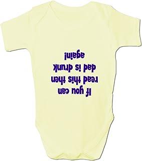 Bang Tidy Clothing Unisex-Kinder Wenn Du Das Hier Lesen Kannst. Babykleidung Strampler
