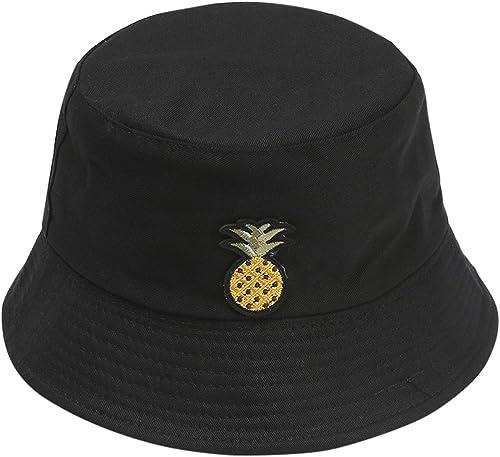 popular Unisex Fashion Bucket Hat Summer Fisherman Cap for Men Women Teens Embroidered Sun Hat outlet sale Outdoor online sale Traveling Bucket Cap online sale