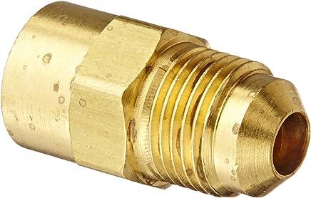 Eaton Weatherhead 49X4X6 Brass CA360 SAE 45 Degree Flare 3//8 NPT Male x 1//4 SAE Male 3//8 NPT Male x 1//4 SAE Male 90 Degree Elbow