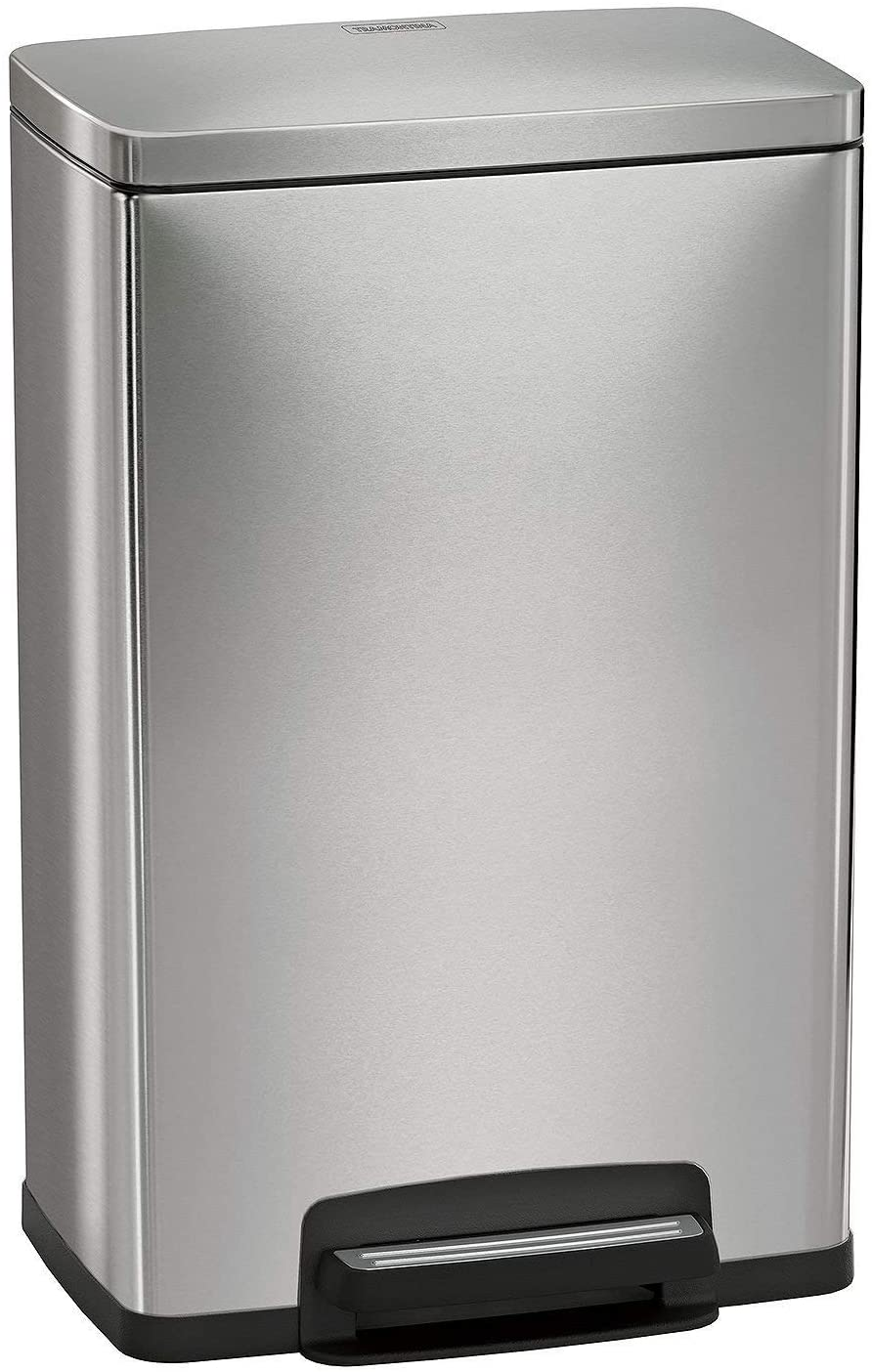 Tramontina 13 Gallon Step Trash Can 2 Includes Steel Attention brand Translated Stainless F