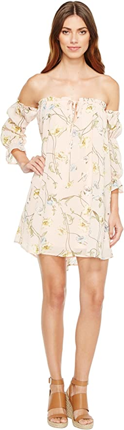 Brigitte Bailey - Geneveive Off the Shoulder Floral Dress