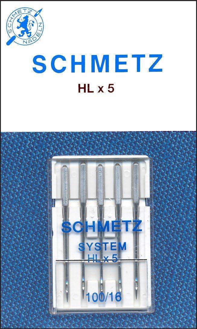 SCHMETZ Machine Needle HXL5 16 Size 2021 100 security