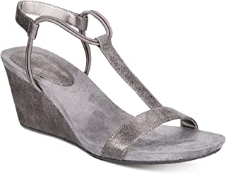 STYLE & CO MULAN Women Wedge Sandals (9.5 M, LT/PAS GRY)