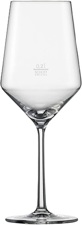 Schott Zwiesel Pure-Copa para Cabernet, 31.1 x 21.1 x 26.5 cm, 6 Unidades