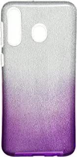 Fashion Case Glitter 3 IN 1 Back Cover Hard Slim Case For Protection For Samsung Galaxy M30 - Multi Color