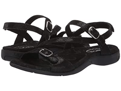 Taos Footwear Beauty 2 (Black Printed Leather) Women