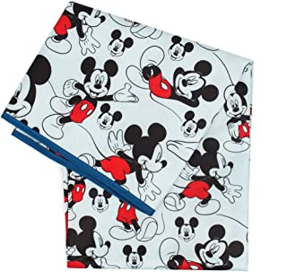 Bumkins Splat Mat, Waterproof, Washable for Floor or Table, Under Highchairs, Art, Crafts, Playtime – 42x42 – Disney Micke...