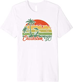 Retro Vintage Charleston 70s SC T-shirt Men Women Gift